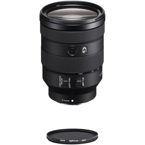 Sony Fe 24 105mm F 4 Lens With Uv Filter Kit Circular Polarization Circular Polarizer Filter Sony
