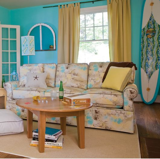 Surf board surf and paint colors on pinterest - Bright turquoise paint colors ...