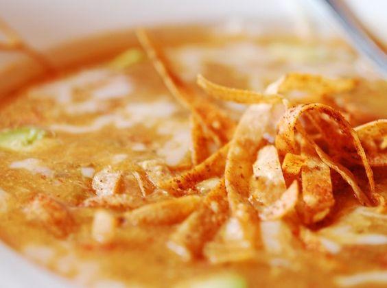 Eva Longoria's Tortilla Soup- I've heard this is amazing