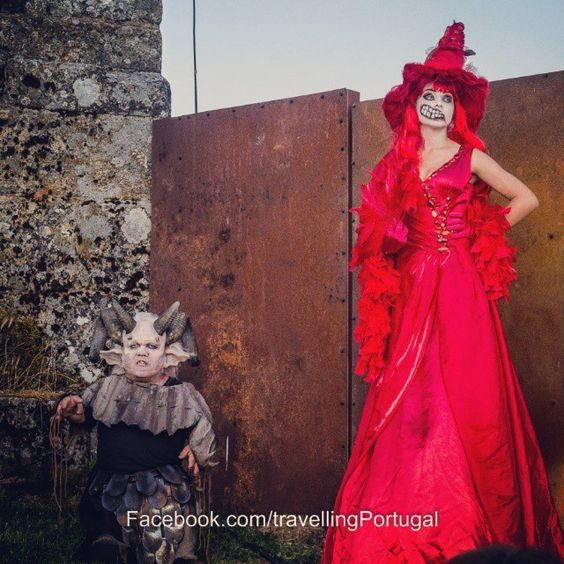 Festa da Sexta Feira 13 Montalegre #Portugal #turismo #travel #sexta13 #montalegre