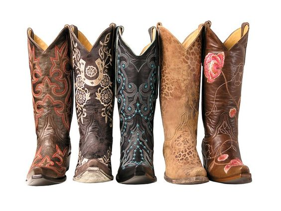 Cowgirl Boots..I want a pair!