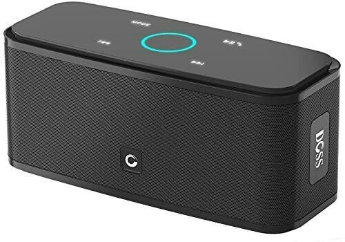 12h Bass Bluetooth Doss Playtime Portable Sound Soundbox Speaker Touch V40 Wireless With In 2020 Bluetooth Lautsprecher Kabellose Lautsprecher Lautsprecher