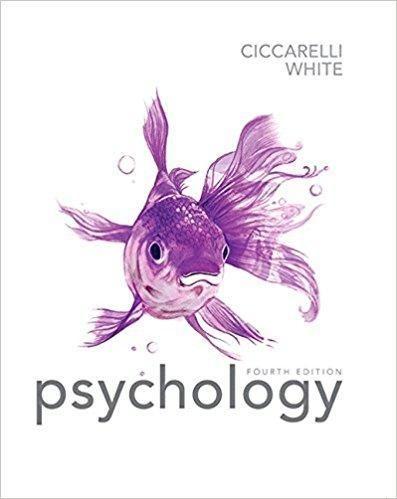 Psychology 4th Edition By Saundra K Ciccarelli Pdf Version Introduction To Psychology Psychology Textbook Psychology
