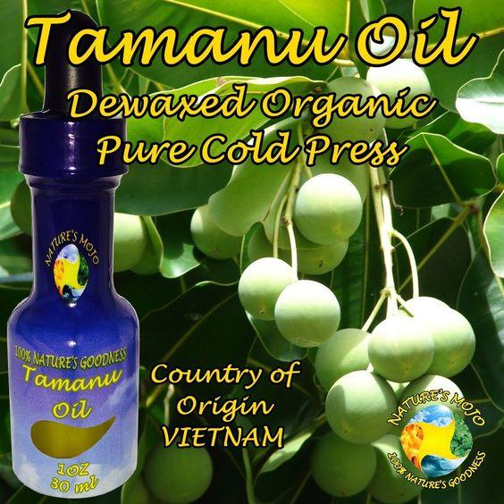 Organic Tamanu Dewaxed Pure Cold Press Oil 30 ml