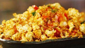 કોર્ન જુવારની ધાણીની ભેલ  #Corn #Bhel #Rasoi #Recipe #Cook #Food   #JanvaJevu