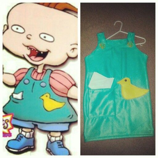 Phil and lil rugrats Halloween costumes diy twins dress up ...