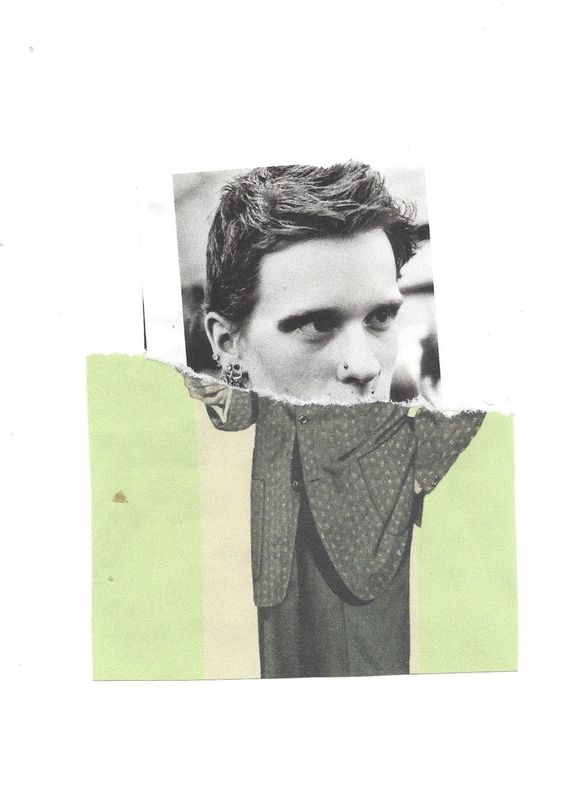 Keith Higginbotham, untitled (collage on paper, 2014)