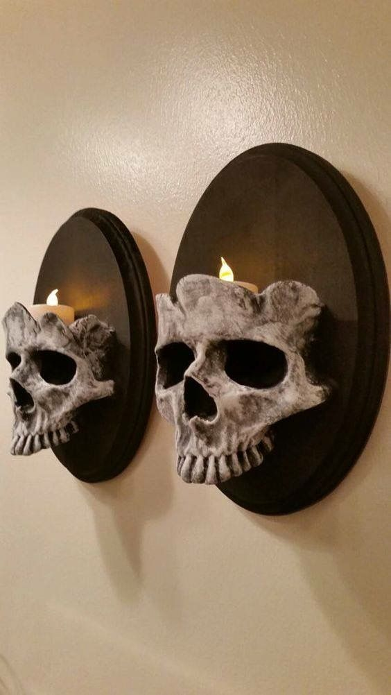 """I can definitely make these look 10 times better...but this is a good and easy base to start with.  I will be making these.... but  more """"Haunted Mansion"""" style.  ~ Bettina"""