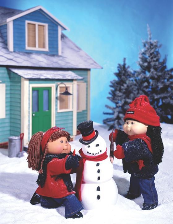 Cabbage patch snowman pictures