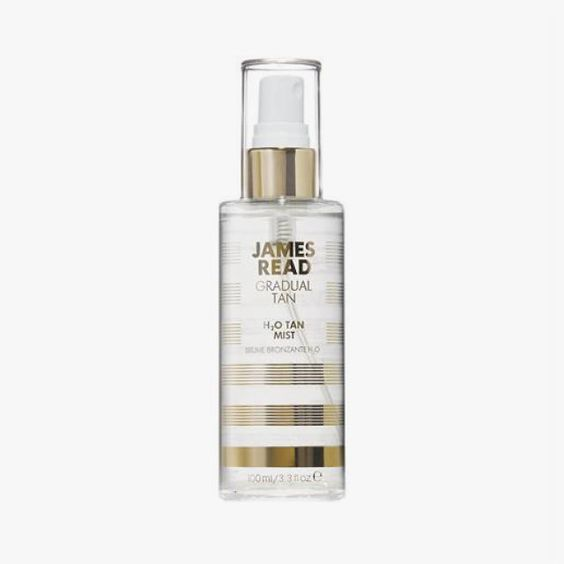 James Read Gradual Tan H2O Tan Mist, $31 a rosewater-infused spray that doubles as a makeup primer and setter.