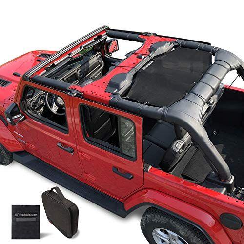 Shadeidea Jeep Wrangler Sun Shade Jl Unlimited 4 Door Rear Black Mesh Screen Sunshade Jlu Sahara Rubicon Sport S Moab In 2020 Jeep Wrangler Jeep Wrangler