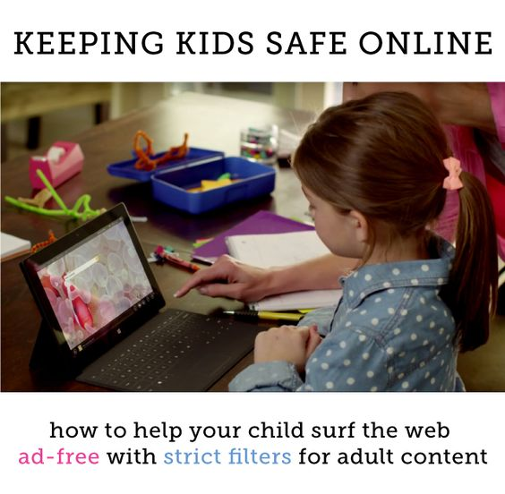 Finally a simple way to make kids web searches 100% ad-free and have strict filters for adult content!