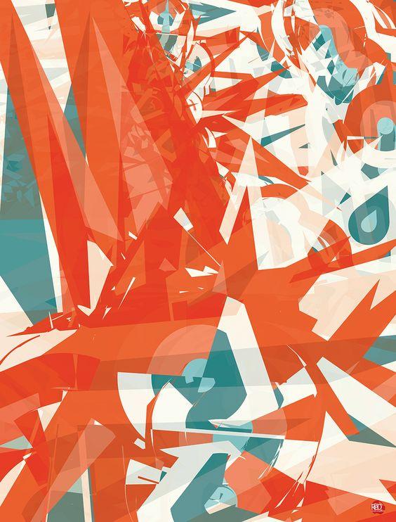 O Blog do Chris, The Red ((graphic.design.web)): //Portfolio: The Red (Novo Site) e Série Cores Formas Movimento Design