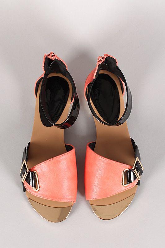 Milan-01 Two Tone Open Toe Flat Sandal #urbanog #summer #fashion #shoes