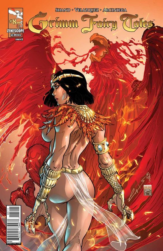 Grimm Fairy Tales #87 - The Phoenix Part 2 (Issue)