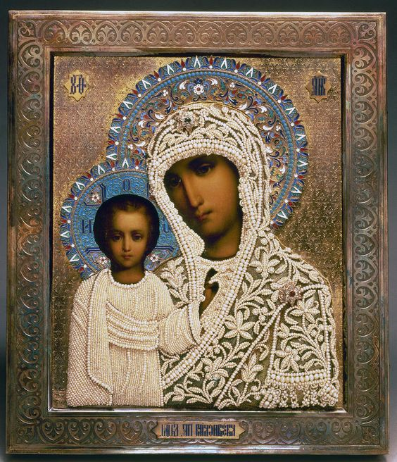Russian Icon: Mary
