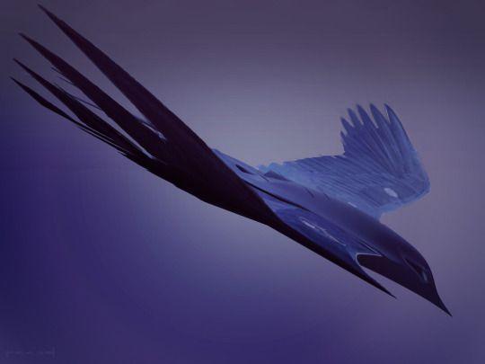 Harkonnen Ornithopter by Alex Jay Brady