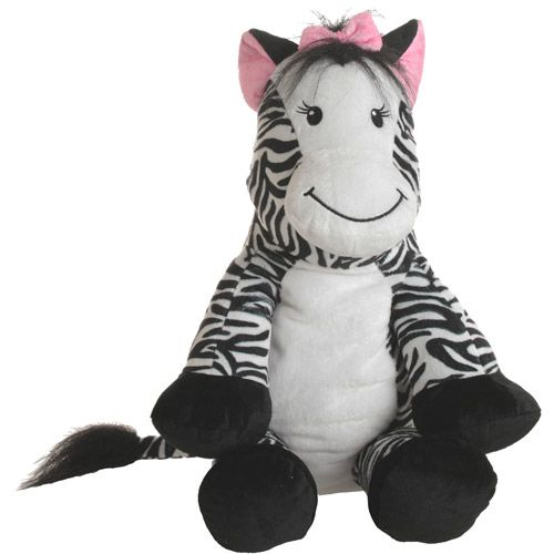 Baby Boom Zebra Cuddle Pillow