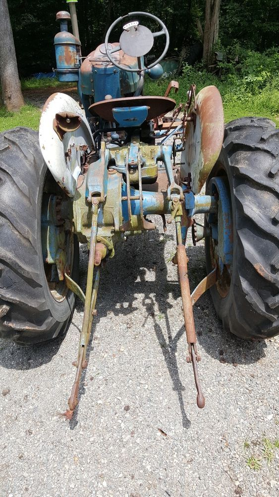 Ford 2000 Offset Tractor Diesel Very Rare With Images Tractors