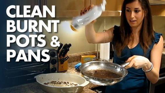 How To Clean Burnt Pots And Pans Uses Dish Soap Baking