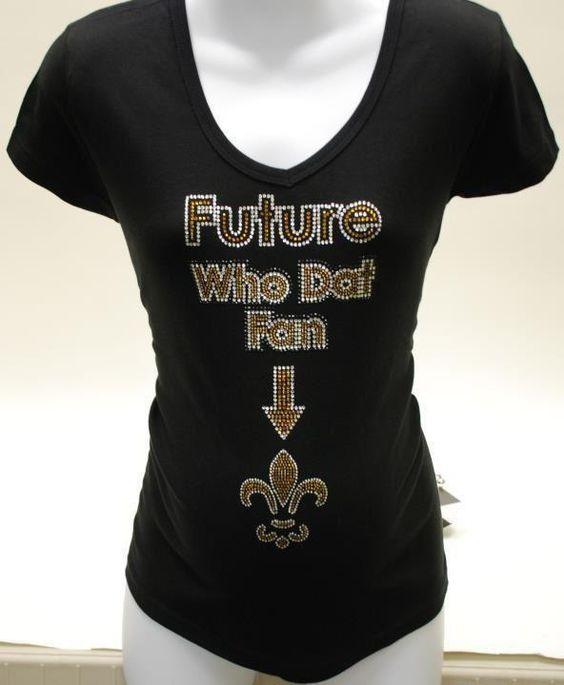 Saints Fan Favorite The Future Who Dat Fan Shirt For