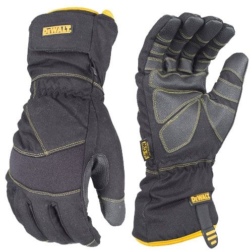 Dewalt Dpg750 Extreme Condition Insulated Cold Weather Work Glove Work Gloves Insulated Gloves Cold Weather Gloves