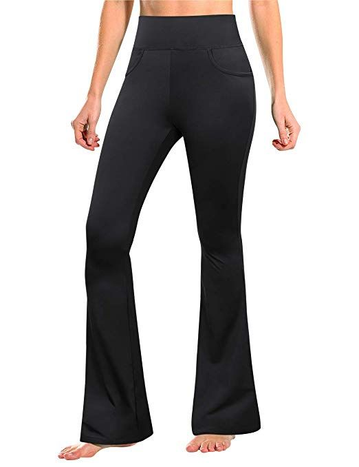 Women's Modest Yoga Bootleg Pants