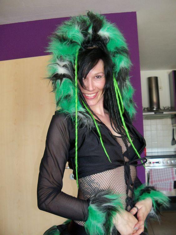 Pogo Outfit - Ziemlich flauschig und ziemlich grün :-D