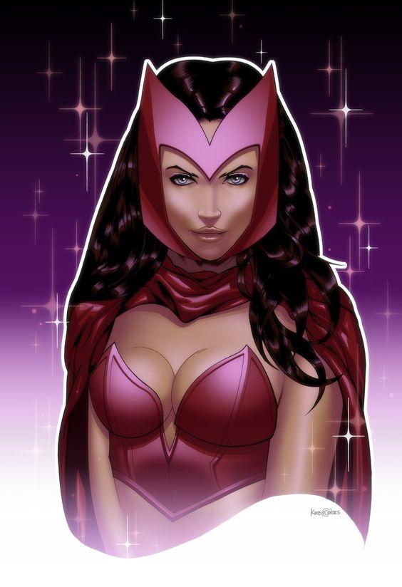 Scarlet Witch by JonBolerjack.deviantart.com