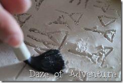 Daze of Adventure - cuneiform tablet craft