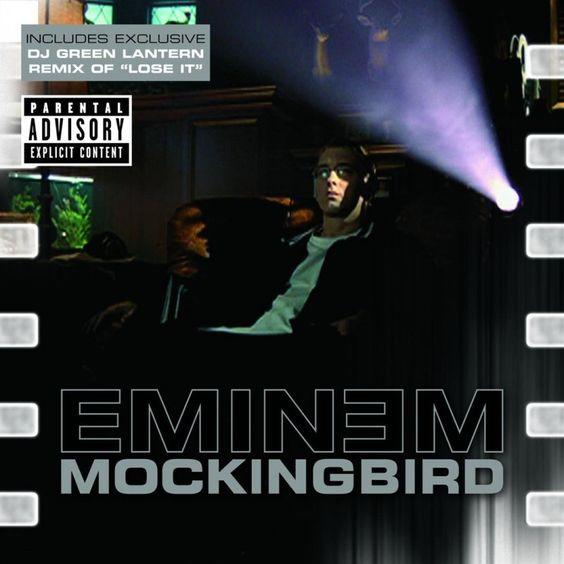 Eminem – Mocking Bird (single cover art)