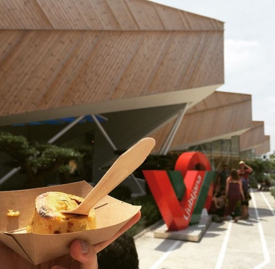 Last year at Expo Milano 2015. Slovenian cuisine at its best :)