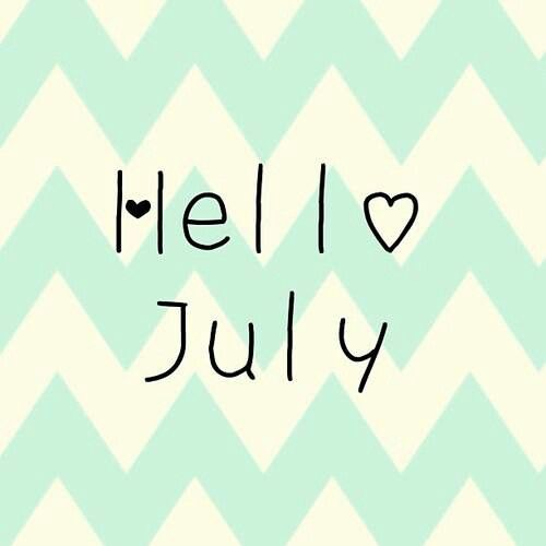 Hello july, Be better and Happy on Pinterest