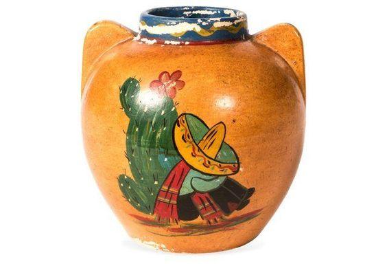 Bauer Tourist Ware Vase, 1920