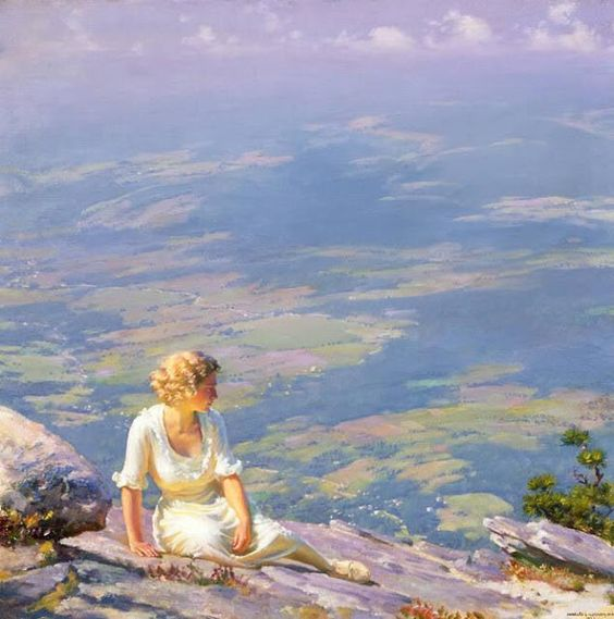 Maher Art Gallery: Charles Courtney Curran American (1861-1942. Adore this painting.:
