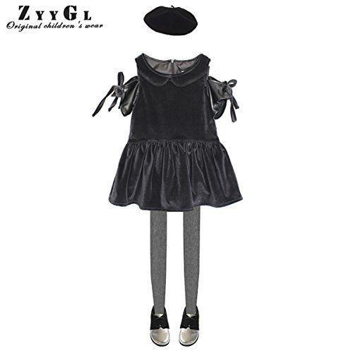 Mullsan Fashion Toddler Girls Two Layers Lace Bead Skirt Legging Pants