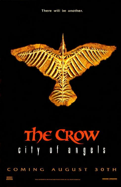 The Crow City Of Angels Movie Poster Movieposter Scifi Moviereview Movietwit Movieposters Adventure Scififantas City Of Angels Movie Crow City Of Angels