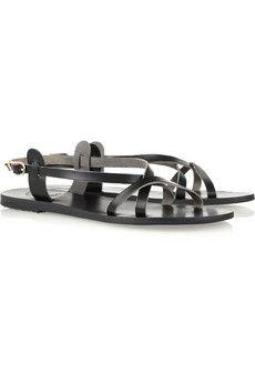 Ancient Greek Sandals |Myrtis leather sandals|NET-A-PORTER.COM - StyleSays