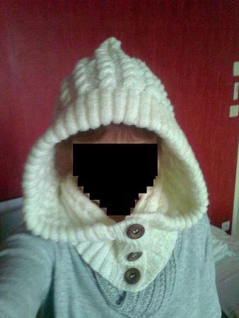 patron tricot gratuit capuche