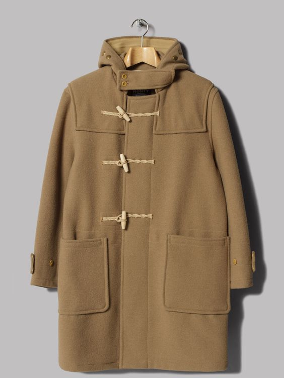 Gloverall Original Monty Duffle Coat (Beige) | Sartorial ...