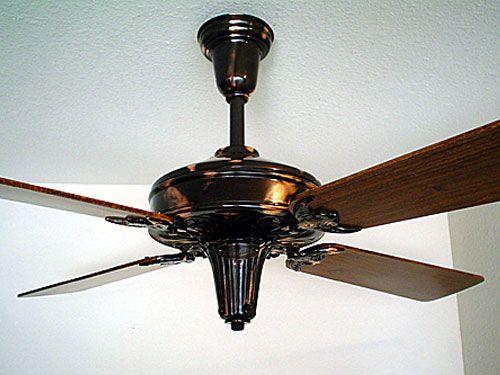 1920 30c Century 58 Copper Ceiling Fan Copper Ceiling Ceiling Fan Copper Ceiling Fan