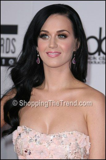 Who Wore What: Katy Perry pretty in pink Badgley Mischka dress @ 2010 American Music Awards