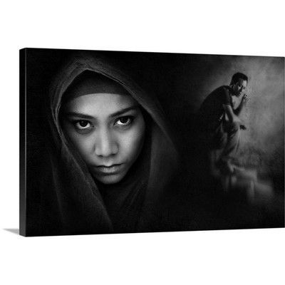 Canvas On Demand Broke Up by Sebastian Kisworo Photographic Print on Canvas Size: