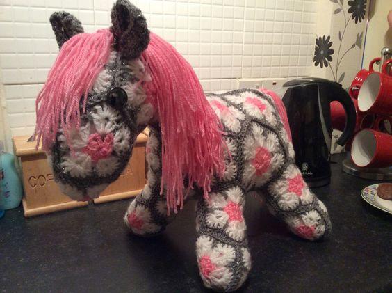 African flower pony