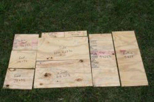 Wood Cutting Pattern