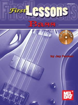First Lessons Bass Book CD Set