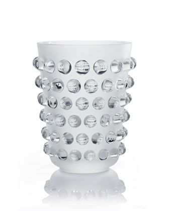 """XXL """"Mossi"""" Champagne Cooler by Lalique at Neiman Marcus."""