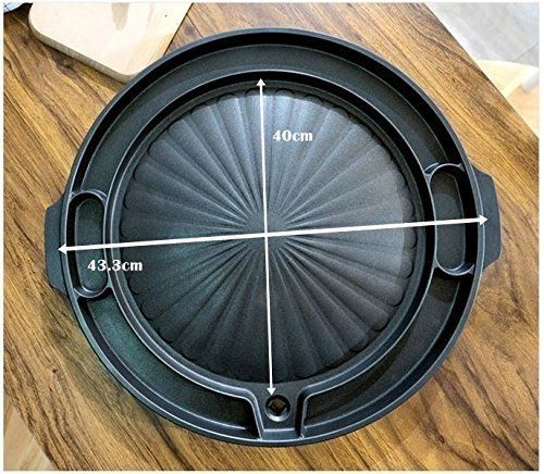 Queen Sense Korean BBQ Samgyeopsal Non-Stick All powerful Stovetop Grill Pan ...