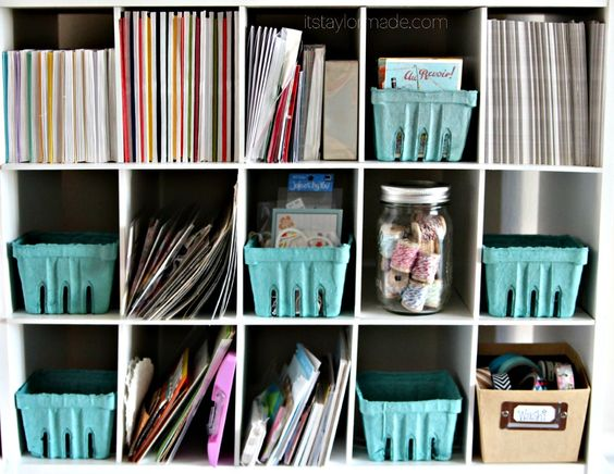 Fabric Storage and a Craft Room Update - Taylor Made