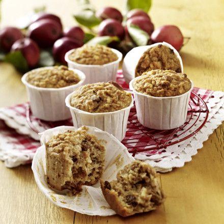Apfel-Haferflocken-Muffins Rezept